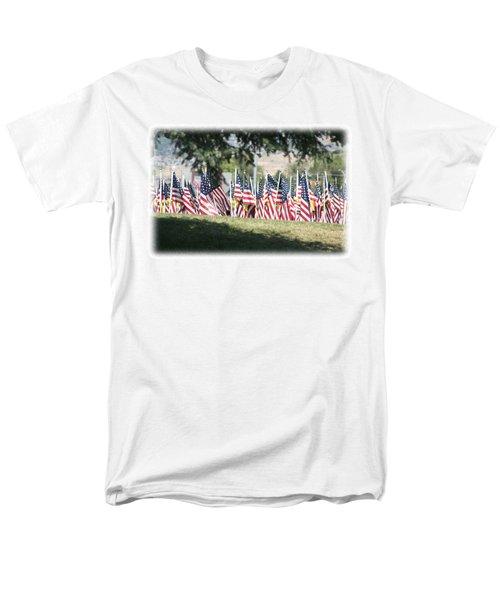 Men's T-Shirt  (Regular Fit) featuring the digital art Gathering Of The Guard - 2009 by Gary Baird