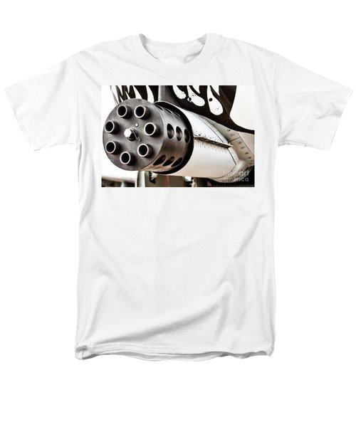 Gatling Men's T-Shirt  (Regular Fit) by Lawrence Burry