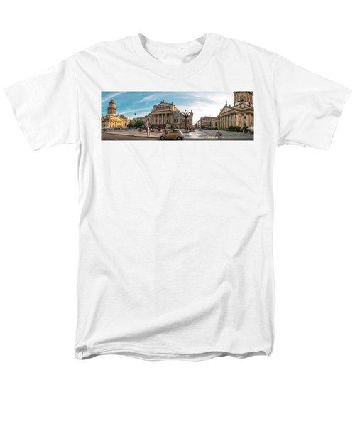 Gendarmenmarkt Platz / Berlin Men's T-Shirt  (Regular Fit) by Stavros Argyropoulos