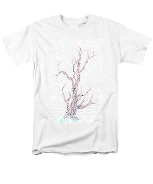 Genetic Branches Men's T-Shirt  (Regular Fit) by Regina Valluzzi