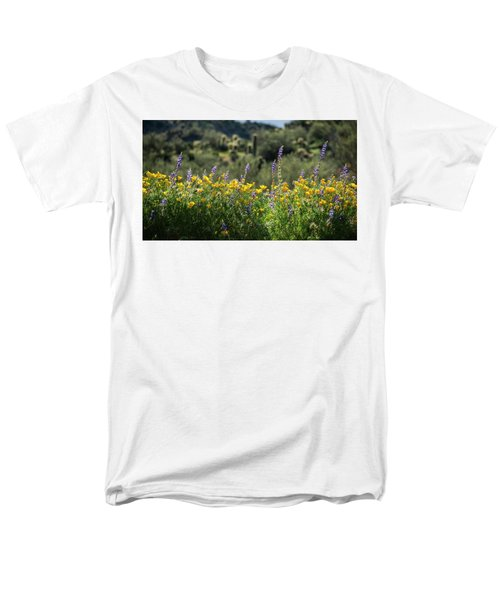 Men's T-Shirt  (Regular Fit) featuring the photograph Gently Swaying In The Wind  by Saija Lehtonen