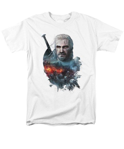 Geralt Of Rivia Men's T-Shirt  (Regular Fit) by Lobito Caulimon