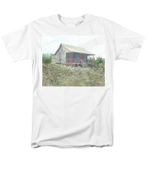 Get Away Cottage Men's T-Shirt  (Regular Fit) by Joel Deutsch