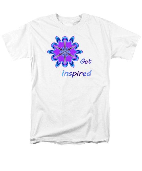 Get Inspired Men's T-Shirt  (Regular Fit)