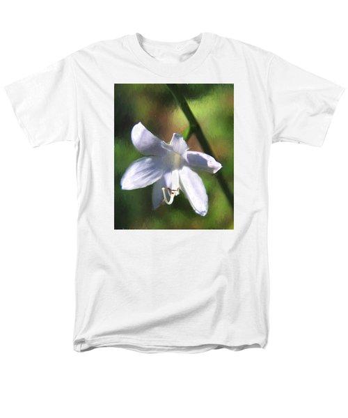 Men's T-Shirt  (Regular Fit) featuring the photograph Ghost Flower by Susan Crossman Buscho