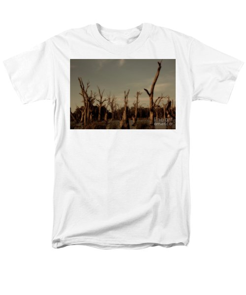 Men's T-Shirt  (Regular Fit) featuring the photograph Ghostly Trees by Douglas Barnard