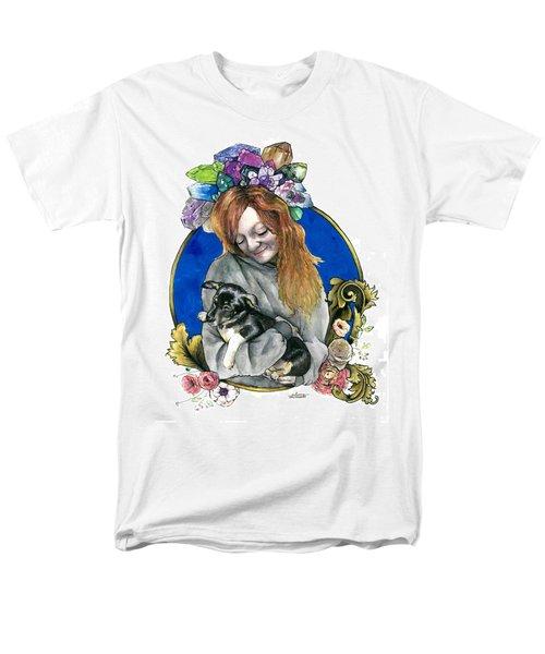 Ginger And Her Lovelies Men's T-Shirt  (Regular Fit) by Arleana Holtzmann