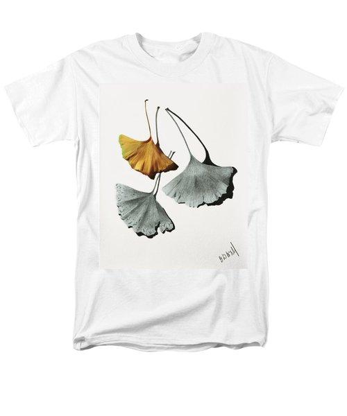 Ginkgo Leaves Men's T-Shirt  (Regular Fit) by Garry McMichael