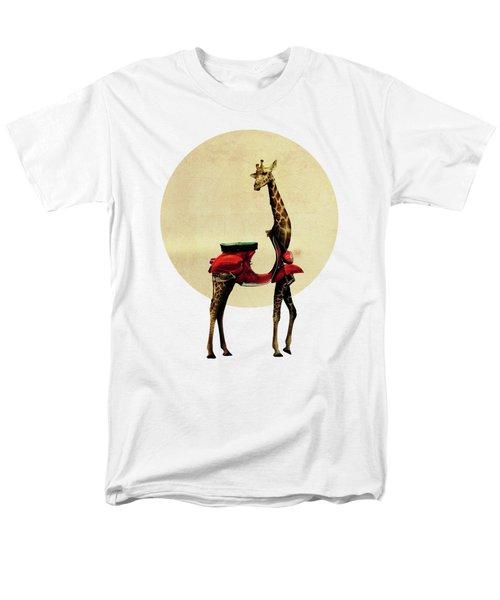 Giraffe Men's T-Shirt  (Regular Fit) by Ali Gulec