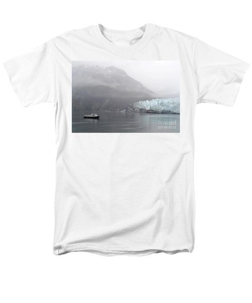 Glacier Ride Men's T-Shirt  (Regular Fit) by Zawhaus Photography