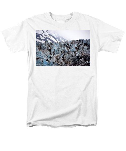 Glaciers Closeup - Alaska Men's T-Shirt  (Regular Fit)