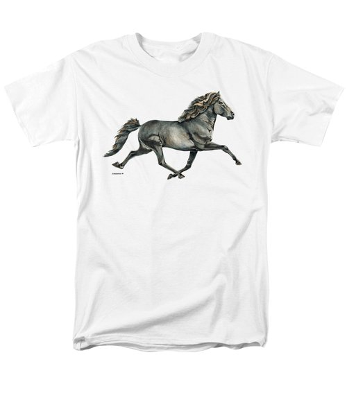 Men's T-Shirt  (Regular Fit) featuring the painting Gletta by Shari Nees