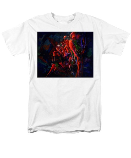 Men's T-Shirt  (Regular Fit) featuring the painting Glow by Georg Douglas