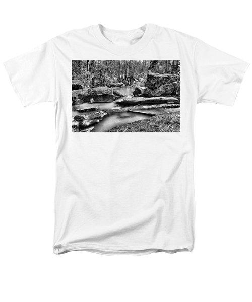 Men's T-Shirt  (Regular Fit) featuring the digital art Glow Water by Greg Sharpe