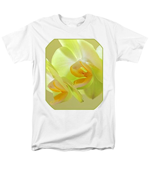 Glowing Orchid - Lemon And Lime Men's T-Shirt  (Regular Fit) by Gill Billington