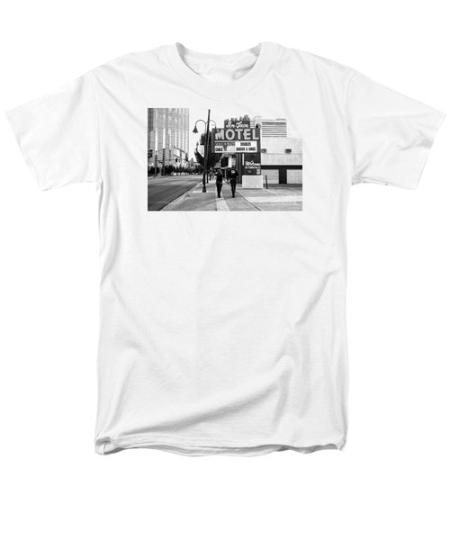 Men's T-Shirt  (Regular Fit) featuring the photograph Going For Breakfast by Vinnie Oakes