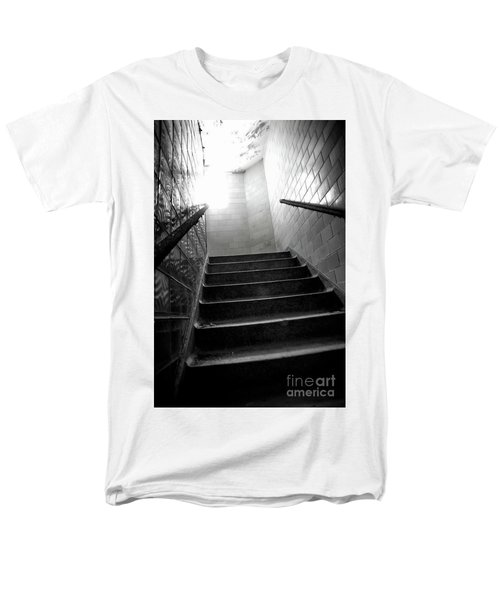 Men's T-Shirt  (Regular Fit) featuring the photograph Going Up? by Randall Cogle