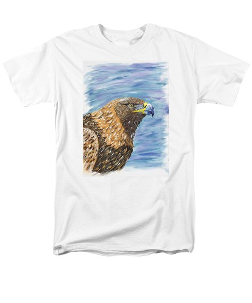 Golden Eagle Men's T-Shirt  (Regular Fit) by Scott Wilmot