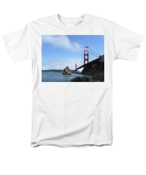 Men's T-Shirt  (Regular Fit) featuring the photograph Golden Gate Bridge by Sumoflam Photography
