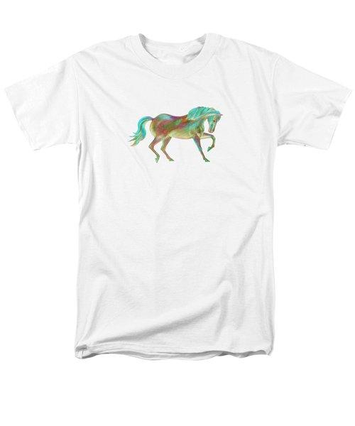 Golden Green Men's T-Shirt  (Regular Fit) by Elizabeth Lock