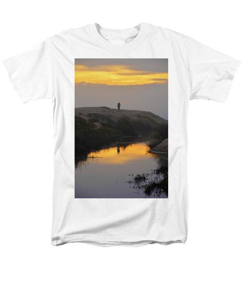 Golden Moments Men's T-Shirt  (Regular Fit) by Deprise Brescia