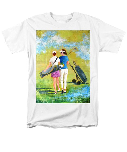 Golf Buddies #1 Men's T-Shirt  (Regular Fit) by Betty M M Wong