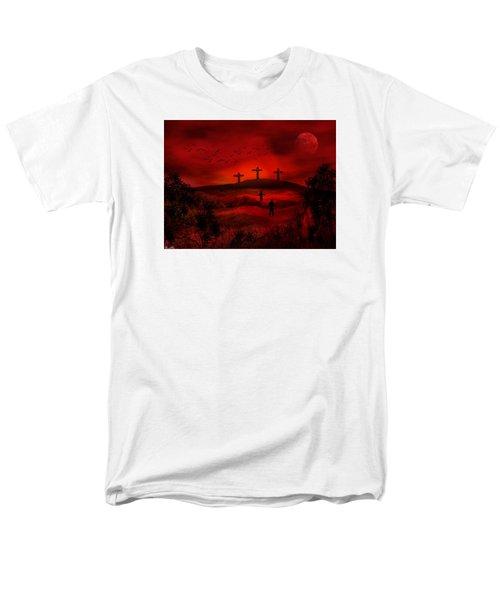 Golgotha Men's T-Shirt  (Regular Fit) by Bernd Hau