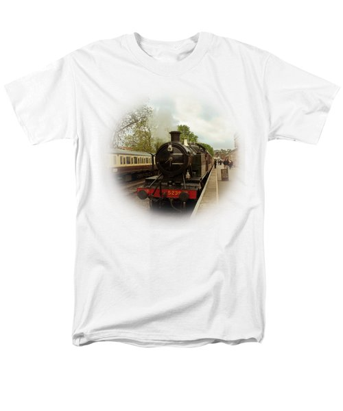 Goliath The Engine And Anna On Transparent Background Men's T-Shirt  (Regular Fit) by Terri Waters