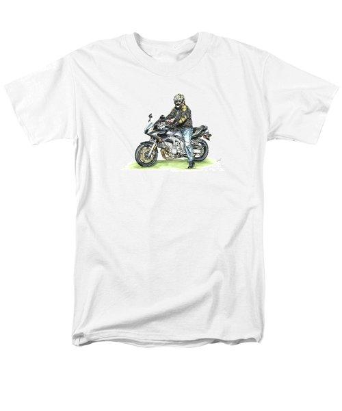 Got To Ride Men's T-Shirt  (Regular Fit) by Shari Nees