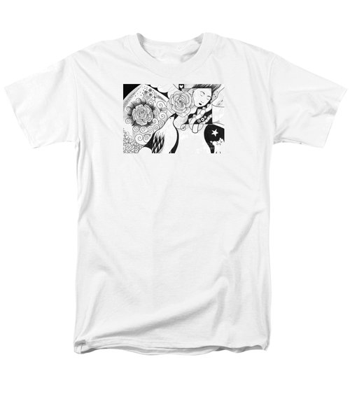 Gracefully Men's T-Shirt  (Regular Fit) by Helena Tiainen