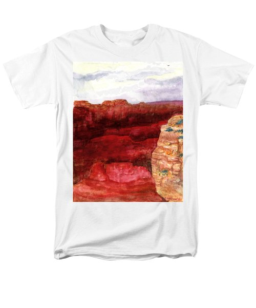 Grand Canyon S Rim Men's T-Shirt  (Regular Fit) by Eric Samuelson