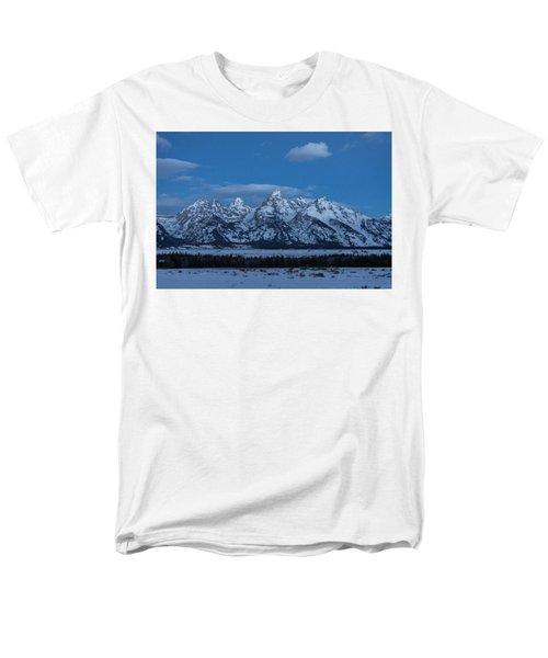 Men's T-Shirt  (Regular Fit) featuring the photograph Grand Teton National Park Sunrise by Serge Skiba
