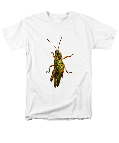 Grasshopper II Men's T-Shirt  (Regular Fit) by Gary Adkins