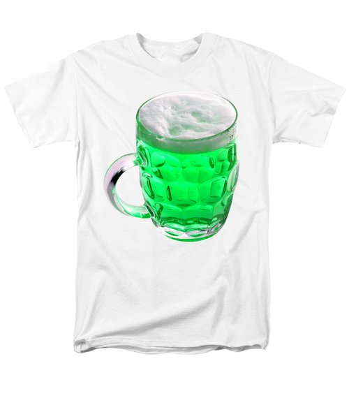Green Beer Men's T-Shirt  (Regular Fit) by Stephanie Brock
