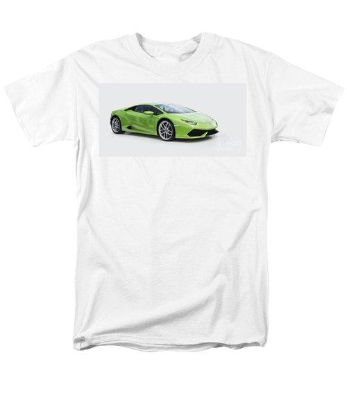 Green Huracan Men's T-Shirt  (Regular Fit) by Roger Lighterness