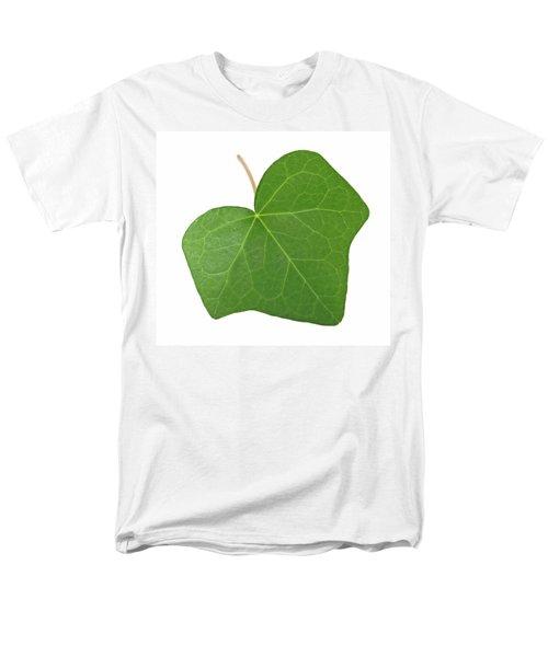 Green Ivy Leaf Men's T-Shirt  (Regular Fit) by GoodMood Art