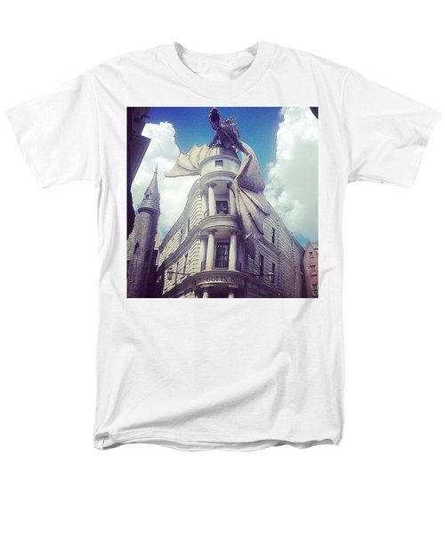 Gringotts  Men's T-Shirt  (Regular Fit) by Kate Arsenault