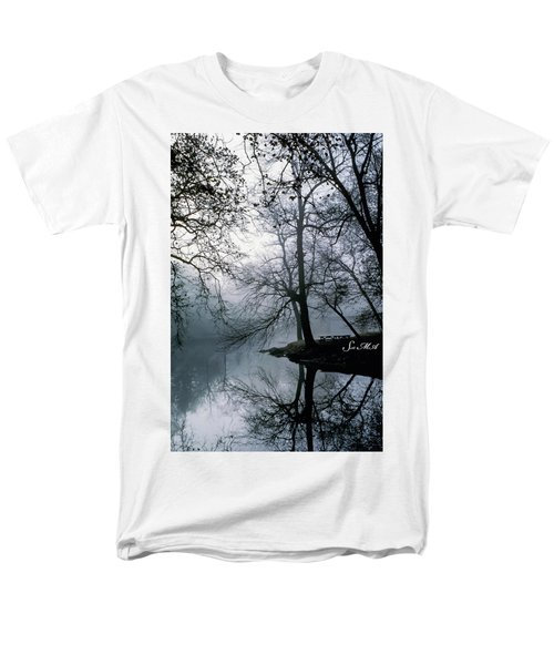 Grings Mill Fog 1043 Men's T-Shirt  (Regular Fit) by Scott McAllister