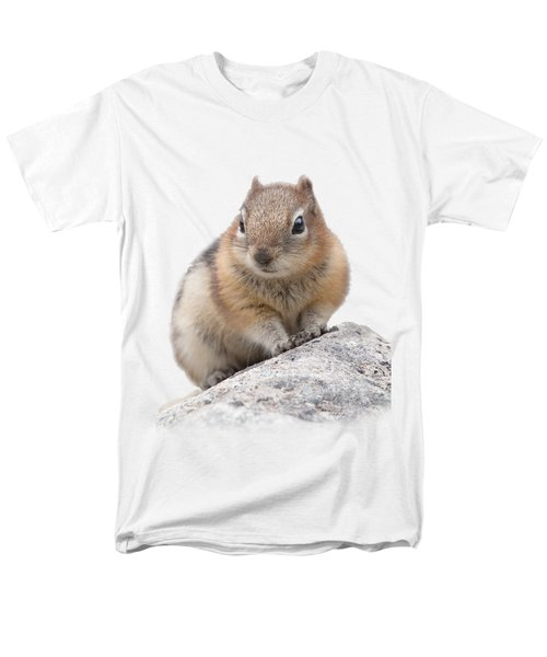 Ground Squirrel T-shirt Men's T-Shirt  (Regular Fit) by Tony Mills