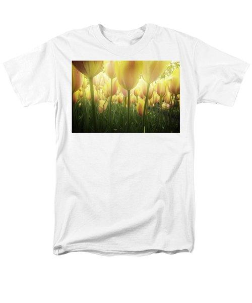 Growing  Tulips  Men's T-Shirt  (Regular Fit) by Anastasy Yarmolovich