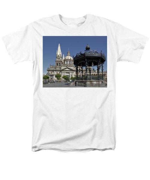 Men's T-Shirt  (Regular Fit) featuring the photograph Guadalajara by Jim Walls PhotoArtist