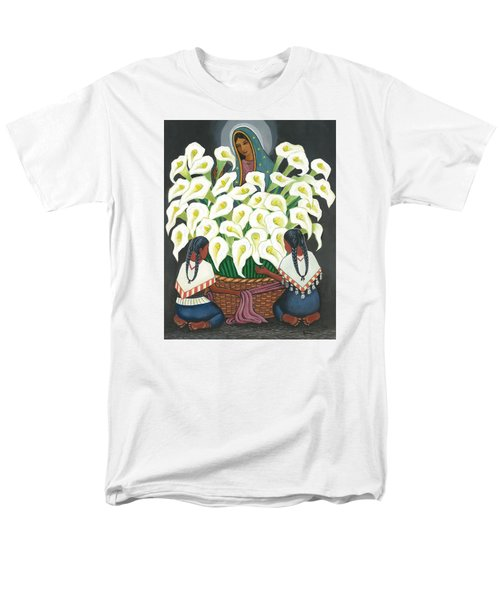 Guadalupe Visits Diego Rivera Men's T-Shirt  (Regular Fit) by James Roderick