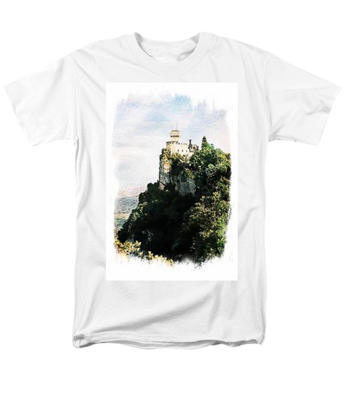 Guaita Castle Fortress Men's T-Shirt  (Regular Fit) by Joseph Hendrix