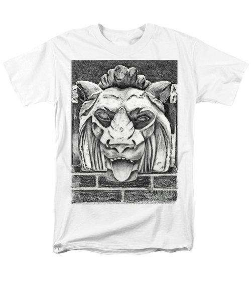 Guardian Lion Men's T-Shirt  (Regular Fit) by Terri Mills