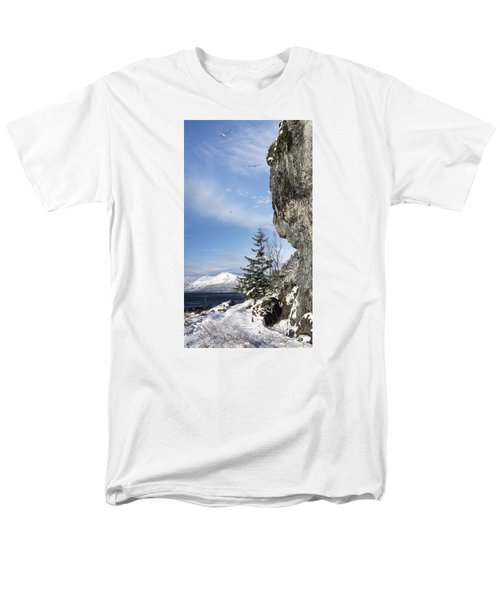 Gulls Of Winter Men's T-Shirt  (Regular Fit) by Michele Cornelius