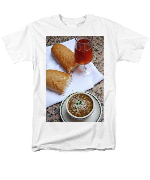 Gumbo Lunch Men's T-Shirt  (Regular Fit) by KG Thienemann