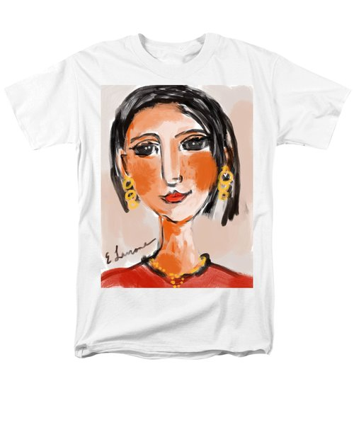 Gypsy Lady Men's T-Shirt  (Regular Fit) by Elaine Lanoue