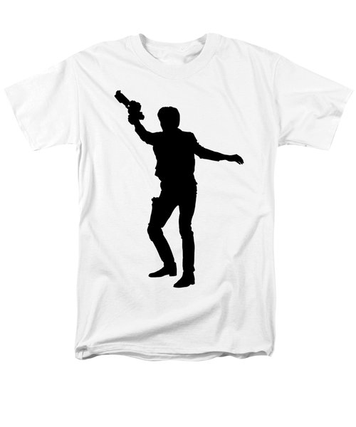 Han Solo Star Wars Tee Men's T-Shirt  (Regular Fit) by Edward Fielding