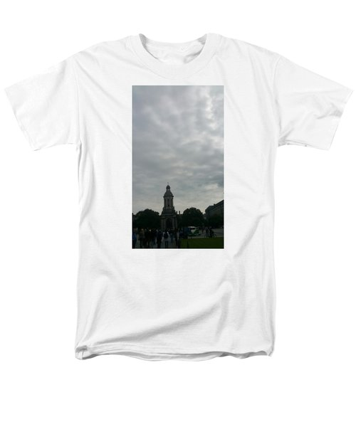 Hand Pressing The Sky Men's T-Shirt  (Regular Fit) by Zachary Lowery