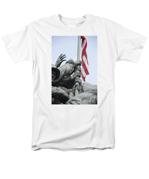 Hands Of Suribachi Men's T-Shirt  (Regular Fit) by David Bearden